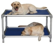 Aluminum Dog Bunk Bed